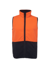 JB'S Hi Vis Polar Vest - Workwear Warehouse