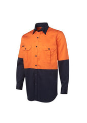 JBs Hi Vis L/S 190g Shirt - Workwear Warehouse