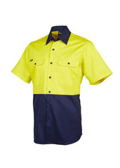 JBs Hi Vis 190g S/S Shirt - Workwear Warehouse