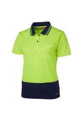 JBS Ladies Hi Vis s/s Comfort Polo - Workwear Warehouse