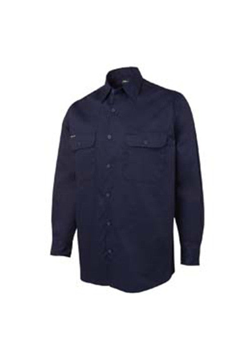 JB'S 150g L/S Work Shirt - Workwear Warehouse