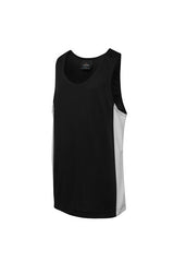 JBs Kids Contrast Singlet - Workwear Warehouse