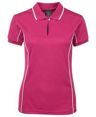 JBs Ladies Piping Polo (1st 11 Colours) - Workwear Warehouse