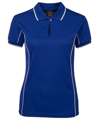 JBs Ladies Piping Polo (2nd 11 Colours) - Workwear Warehouse