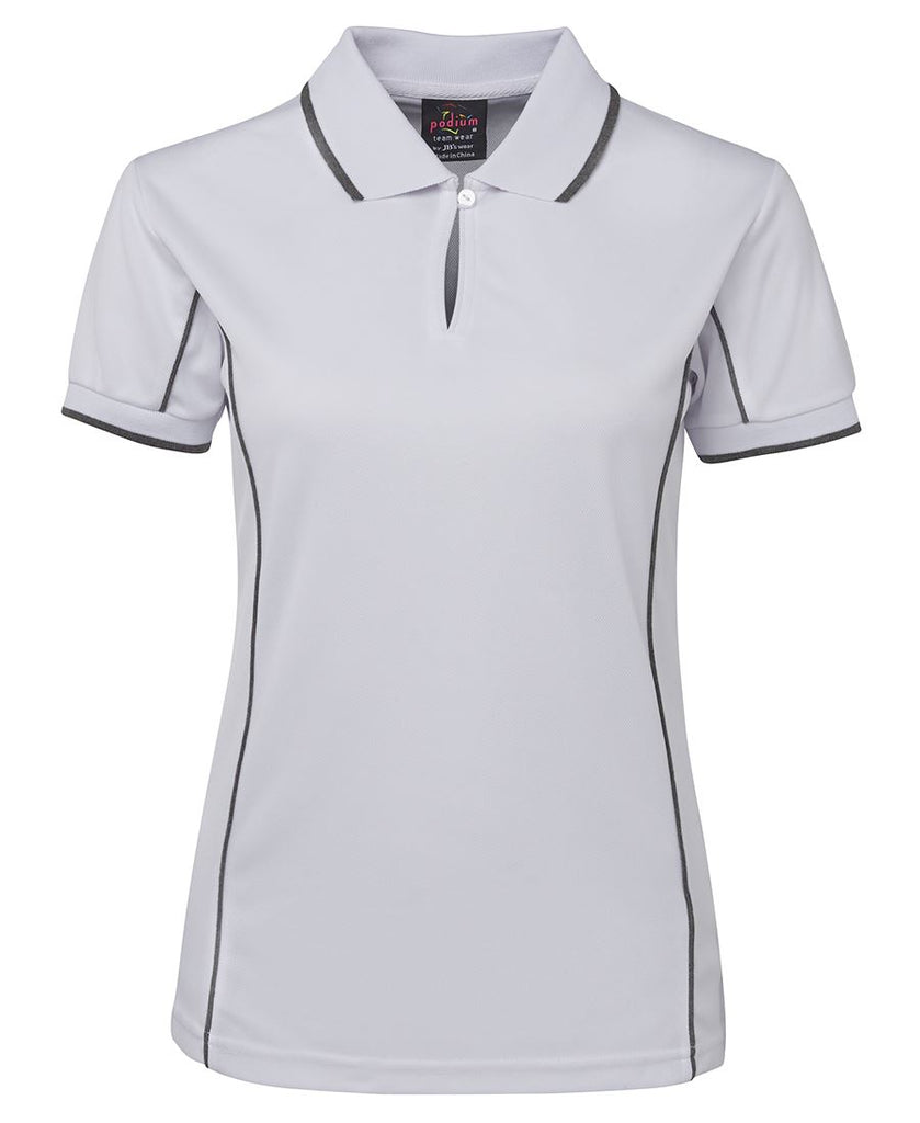 JBs Ladies Piping Polo (3rd 4 Colours) - Workwear Warehouse