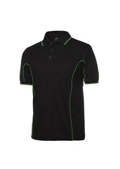 JBs Men's Piping Polo (2nd 11 Colours) - Workwear Warehouse