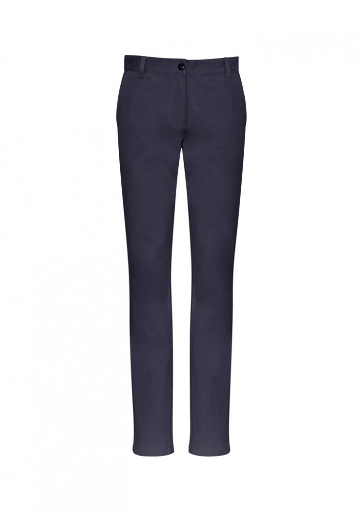 Biz Ladies Lawson Chino Pant - Workwear Warehouse