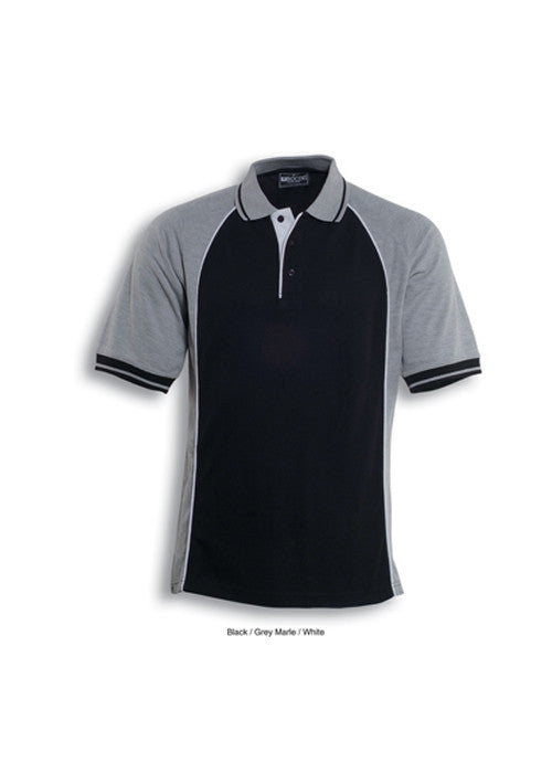 Bocini Mens Panel Polo - Workwear Warehouse