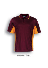 Bocini Mens Breezeway Panel Polo - Dark - Workwear Warehouse