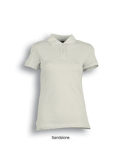 Bocini Ladies Cotton Spandex Polo - Workwear Warehouse