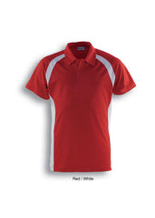 Bocini Men's Team Essentials Contrast Panel Polo (2nd 6 Colours) - Workwear Warehouse