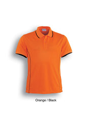Bocini Ladies Stitch Feature Essential Polo (10 Colours) - Workwear Warehouse