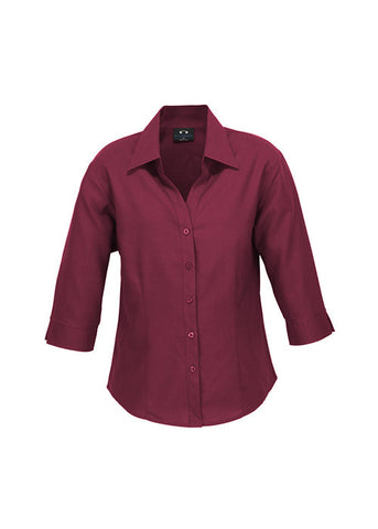 Biz Ladies Oasis Shirt 3/4 Sleeve