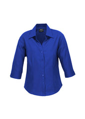 Biz Ladies Oasis Shirt 3/4 Sleeve - Workwear Warehouse