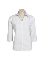 Biz Ladies Metro Shirt 3/4 sleeve - Workwear Warehouse