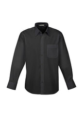 Biz Mens Base Shirt - L/S - Workwear Warehouse
