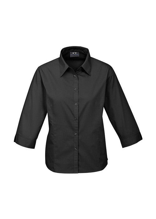 Biz Ladies Base Shirt - 3/4 Sleeve - Workwear Warehouse