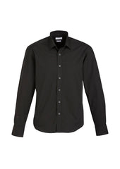 Biz Men's Berlin L/S Shirt - Workwear Warehouse
