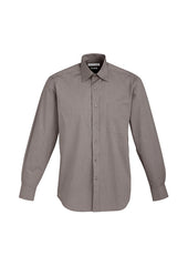 Biz Men's Chevron L/S Shirt - Workwear Warehouse