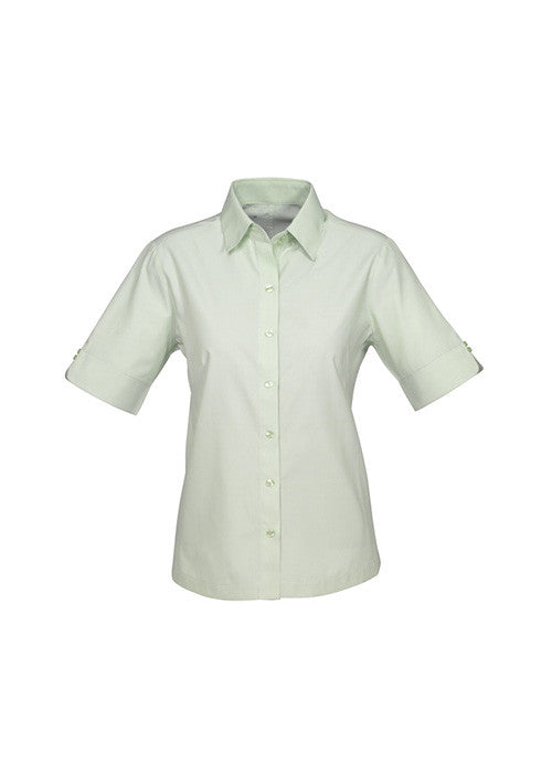 Biz Ladies Ambassador Shirt S/S Sleeve - Workwear Warehouse
