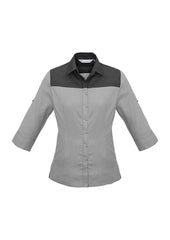 Biz Ladies Havana 3/4 Sleeve Shirt - Workwear Warehouse