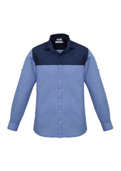 Biz Men's Havana L/S Shirt - Workwear Warehouse