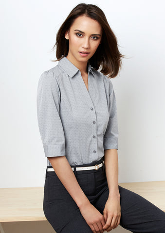 Biz Ladies Trend 3/4 Sleeve Shirt - Workwear Warehouse