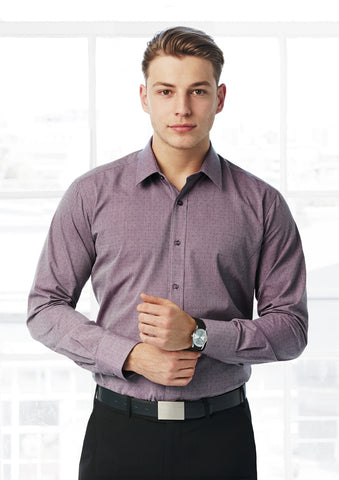 Biz Men's Trend L/S Shirt - Workwear Warehouse
