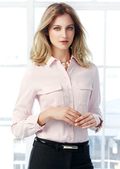 Biz Ladies Madison L/S Shirt - Workwear Warehouse