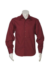 Biz Mens Metro L/S Shirt - Workwear Warehouse