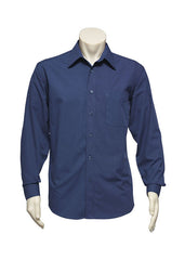 Biz Mens Micro Check L/S Shirt - Workwear Warehouse