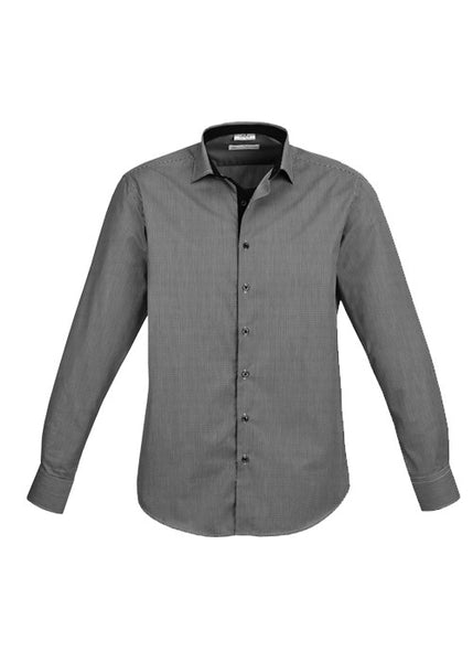 Biz Men's Edge L/S Shirt
