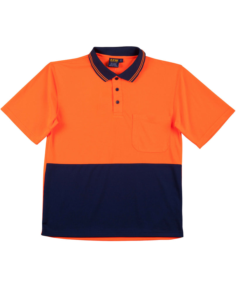 WS Cool Dry Micromesh Safety Polo - Workwear Warehouse