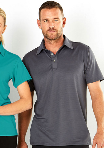 Stencil Silvertech men's polo