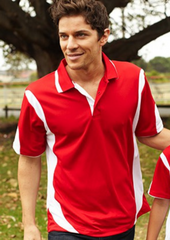 Bocini Breezeway Contrast Men's Polo (2nd 12 Colours)