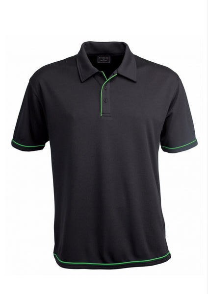 Stencil Men's Cool Dry Polo