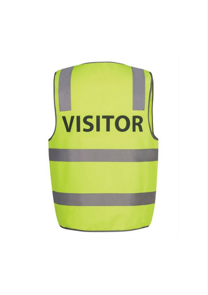 JBs Hi Vis D&N Safety Vest VISITOR