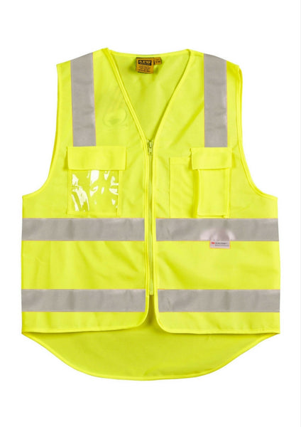 WS Hi Vis Safety Vest with 3M Tape