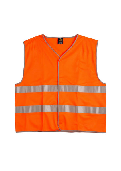WS Hi Vis Safety Vest with Reflective Tape