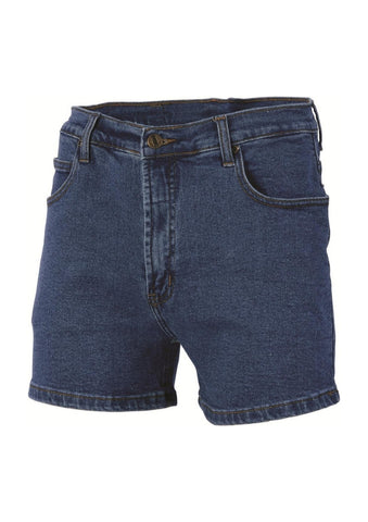 DNC Denim Stretch Shorts - Workwear Warehouse