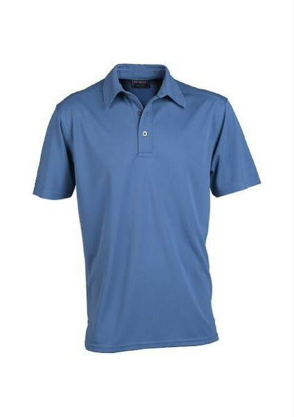 Stencil Glacier Men's Polo