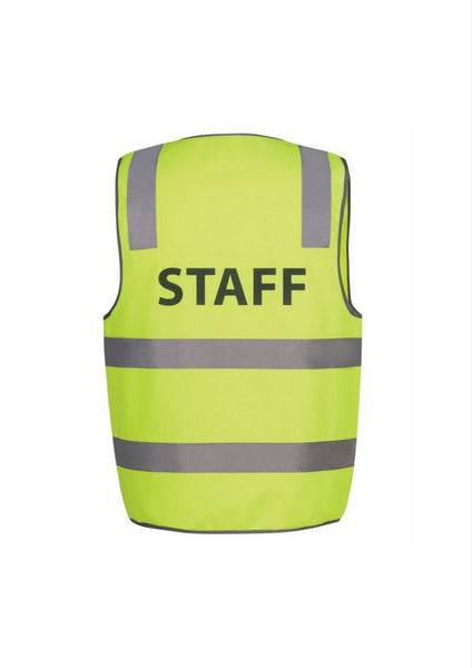 JBs Hi Vis D&N Safety Vest STAFF