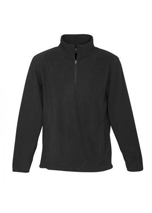 Biz Men's Trinity 1/2 zip fleece - Workwear Warehouse
