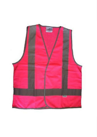 HC Day/Night Pink Safety Vest - Workwear Warehouse