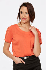 CR Ladies Jewel S/S Blouse - Workwear Warehouse