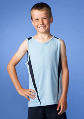 Eureka Kids Singlet (Dark) - Workwear Warehouse