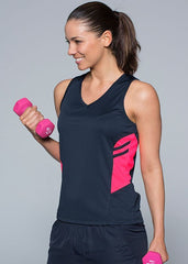 AP Ladies Tasman Singlet (1st 10 Colours) - Workwear Warehouse