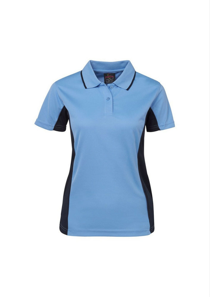 JBs Ladies Poly Contrast Polo - Workwear Warehouse