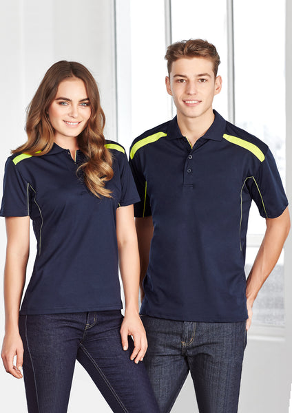 Biz Men's United Polo