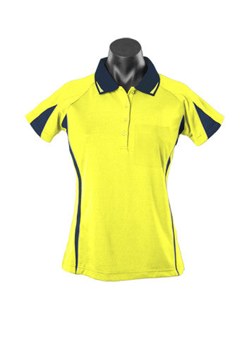 Eureka Ladies Hi Viz Polo - Workwear Warehouse